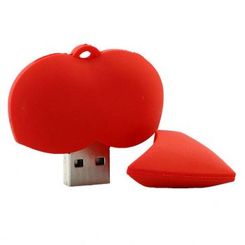 PVC Chicken Wings Shape USB Pendrive,free sample