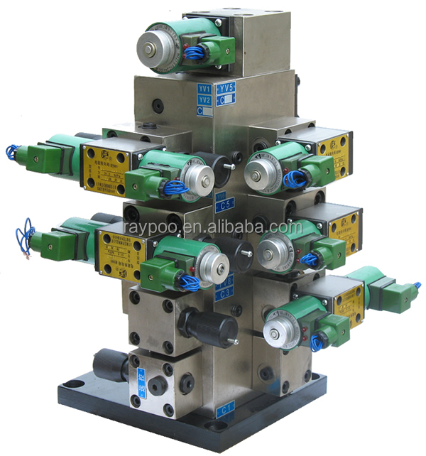 Hydraulic system is applied to the hydraulic press for track chain