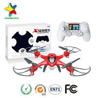 Mini Pocket Selfie Drone Quadcopter Photography Wifi FPV With 0.3MP Camera Phone Control JJ H37 Elfie Pocket Fold Portable Drone