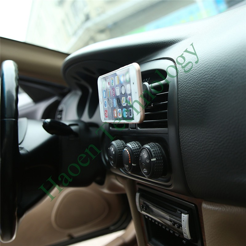 Universal Air Vent Smartphone Magnetic Car Mount Holder Cradle-Less for Iphone 6plus(6+) Large Screen Smart Phone