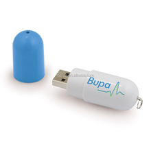 Promotional Pill-Shaped USB Flash Drive