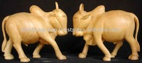 hand carving animal/wood art/ wood appliques