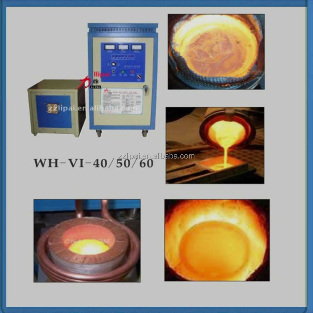 Small Gold Smelting Furnace Gold Refining Machine Made In China