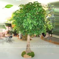 2.5m Artificial evergreen ornamental plants artificial ficus tree for garden decoration