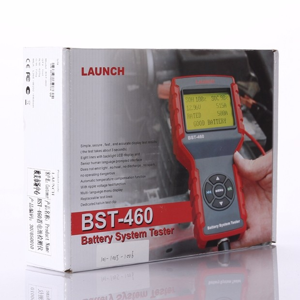 Top Sale Original Launch BST460 Battery System Tester 1 suitable for 6V&12V starting/charging BST-460