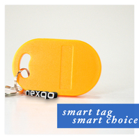 Colorful Ntag203 Rfid NFC Key Fob with Metal Ring