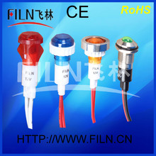 6mm led lamp three phase indicator light 220v