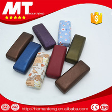 pu optical glasses metal case,glasses case leather
