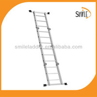 Quzhou aluminum step ladders wood ladder shelf furniture stair