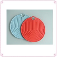 Non-stick & foldable heating silicone hot pot mat/cup pad/baking sheet/pan holder