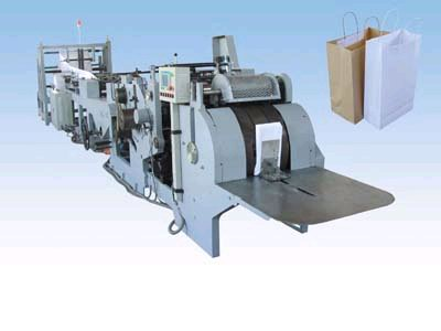 Sheet Fed Handbag Sos Grocery Bag Machine Equipment