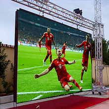 live football video p10 outdoor full color advertising large stadium led display screen for billboard screen