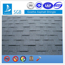 Color not Fade 30 years warranty fiberglass reinforcement asphalt shingle
