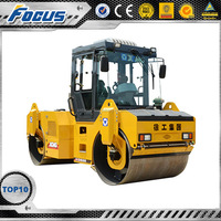 XCMG self-propelled vibratory road roller 16 ton tyre road roller