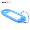 Keychain Factory Direct Sale Bulk Cheap Customized Hotel Blank Plastic Keyrings