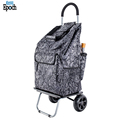 Wholesale large durable shopping trolley bag wheels,practical shopping grocery foldable cart