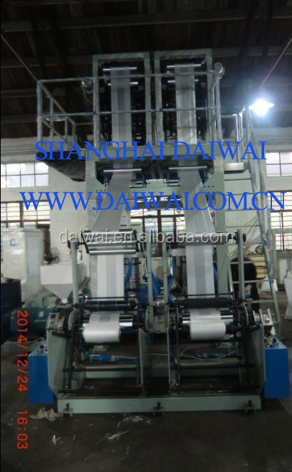 DOUBLE DIE BLOW FILM PLANT FOR TSHIRT BAG FILM