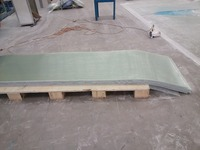 FRP fibre glass sheet GRP sheet panel board ceiling panels