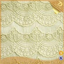 Fashion Chemical Thick Polyester Swiss Lace Fabric African