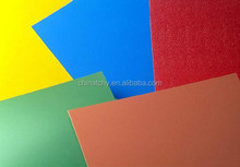 High quality PE PVDF color coated aluminum roofing sheet decorative plate