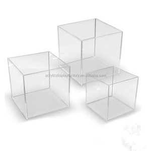 Popular wholesale custom made acrylic box with best quality