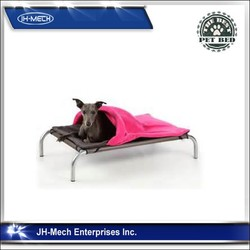 New style Deluxe online shopping Elevated Pet Cot Bed Black