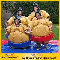 inflatable wrestling ring for kids/foam padded sumo suits/inflatable sumo wrestling suits