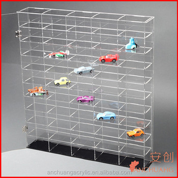 Customized Acrylic Model Car Display Cabinets