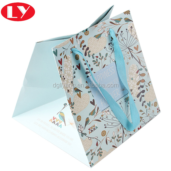 Custom 2017 garment luxury shopping paper bag