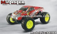 Nitro powered 4x4 trucks 1 10 scale rc trucks