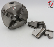 CNC Dia.100mm Series Cylinder Center Mounting Four 4-Jaw Self-Centering Chuck