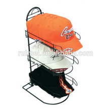 Countertop 3 tier fitted hat rack