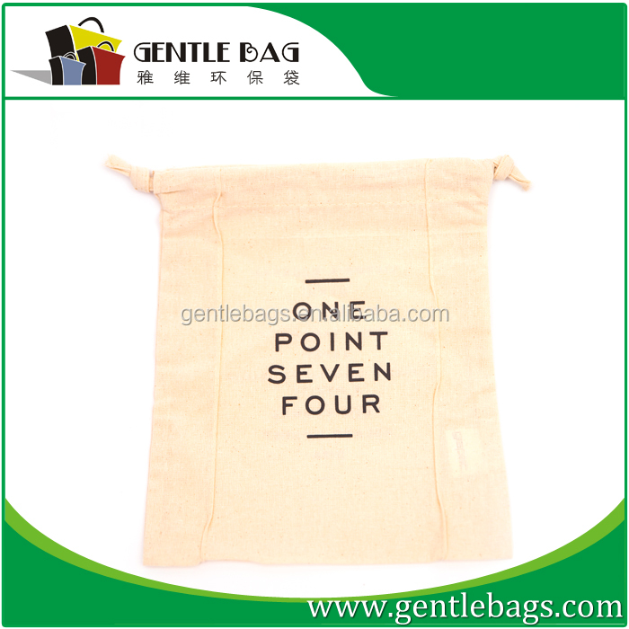 Top quality 100% cotton bag example