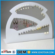 countertop acrylic long necklace body Jewelry display necklace/bracelet/earring hanger display