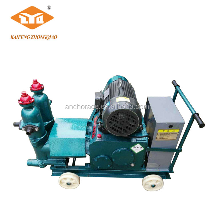 Post-tensioning Bridge Construction Concrete Hydraulic Electric Mortar Grout Pump