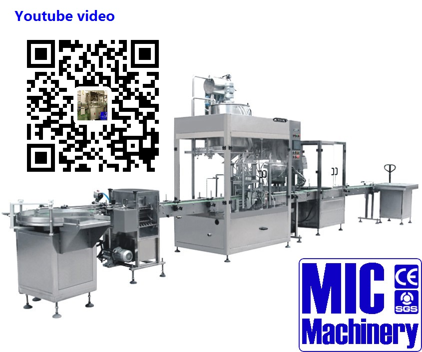 Micmachinery deodorant filling machine plastic bottle filling machine liquid detergent filling machine
