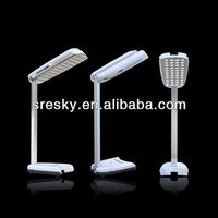 3W Solar table lamp; 2W solar panel led reading lamp. Opened as Pendant Light with phone charger