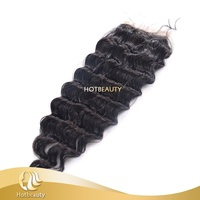 2015 Brazilian Made by Virgin Hair 6A Ocean Wave Remy Lace Front Closure With Baby Hair