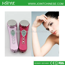Portable multifunctional 2 work mode electric handheld ultrasonic beauty collagen product