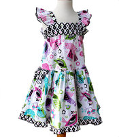 Hot Sale Baby Cotton Girls Dresses