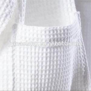 100% white cotton hotel bathrobe for woman & man
