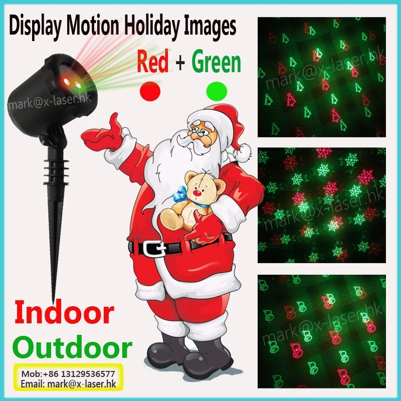 New product factory Price Christmas decor laser light