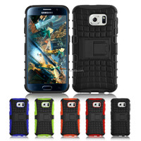 movie stand shockproof case for samsung galaxy s6 case cover