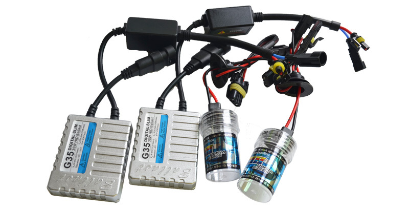 hot!G35 35W 12V HID XENON KIT H1,H3,H4,H7,H8,H9,H10,H11,HB3,HB4,H27/881,D2S/R/C for 3000 4300k 5000K 6000K 8000 10000 ,hid xenon