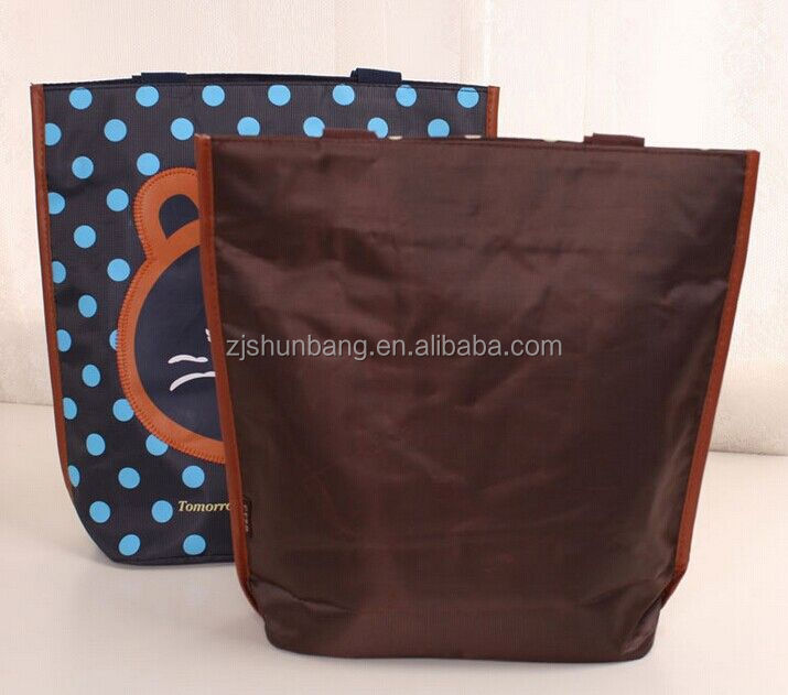 2015 cheap 600 d polyester tote bag/ waterproof beach bag with zipper/ shopper 600 d polyester tote bag