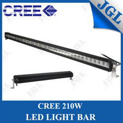 motorcycle turning single row lights cree led offroad light bar waterproof