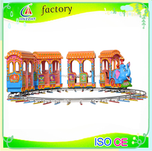 Mini cartoon track train forest Rail train popular in Russia