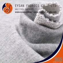 EYSAN Peach Skin Viscose Polyester Cotton French Terry Cloth Fabric