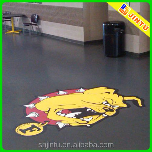 High quality pvc floor sticker for decoration