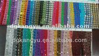 Hot selling and promotional shiny Christmas tinsel garland wire tinsel garland